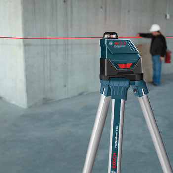 Bosch GLL-150-ECK Self-Leveling 360 Degree 500 ft. LR3 Exterior Laser Kit image number 5