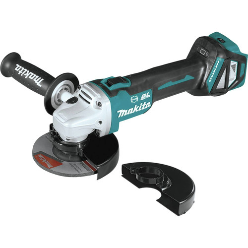 Makita XAG16Z 18V LXT Lithium-Ion Brushless Cordless 4-1/2 in. or 5 in. Cut-Off/Angle Grinder with Electric Brake (Tool Only)