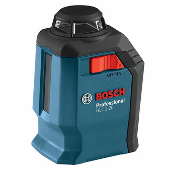 Factory Reconditioned Bosch GLL2-20-RT Self-Leveling 360 Degree Line and Cross Laser image number 1