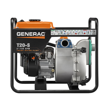 Generac 6920 T20-S 211cc Gas 2 in. Trash Pump with Subaru Engine image number 4