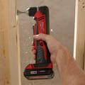 Milwaukee 2615-21 M18 Lithium-Ion 3/8 in. Cordless Right Angle Drill Driver Kit (3 Ah) image number 2