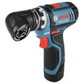 Factory Reconditioned Bosch GSR12V-140FCB22-RT 12V Lithium-Ion Max FlexiClick 5-In-1 1/4 in. Cordless Drill Driver System Kit (2 Ah) image number 3