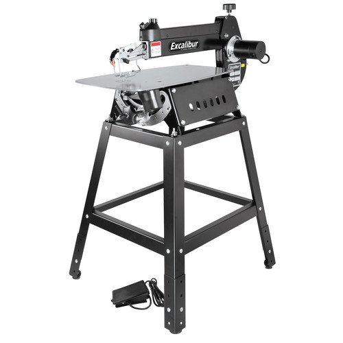 Excalibur EX-21K 21 in. Tilting Head Scroll Saw Kit with Stand & Foot Switch image number 0