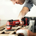 Skil OS592702 PWRCore 12 12V Brushless Lithium-Ion Oscillating Cordless Multi-Tool Kit (2 Ah) image number 14
