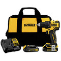 Dewalt DCD708C2 ATOMIC 20V MAX 1/2 in. Brushless Compact Drill Driver Kit