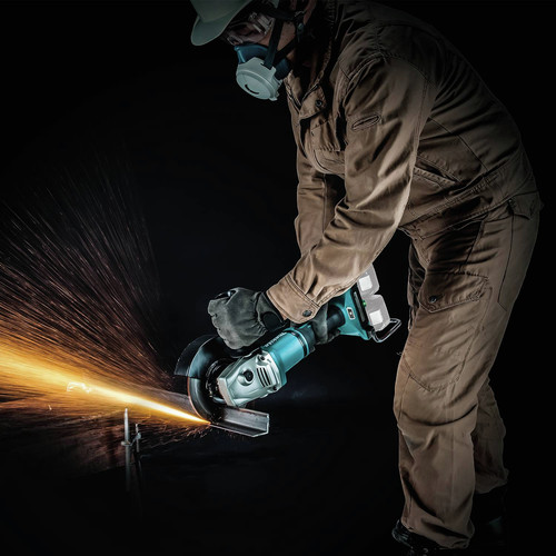 Makita XAG22ZU1 18V X2 LXT Lithium-Ion Brushless Cordless 7 in. Paddle Switch Cut-Off/Angle Grinder with Electric Brake and AWS  (Tool Only) image number 14