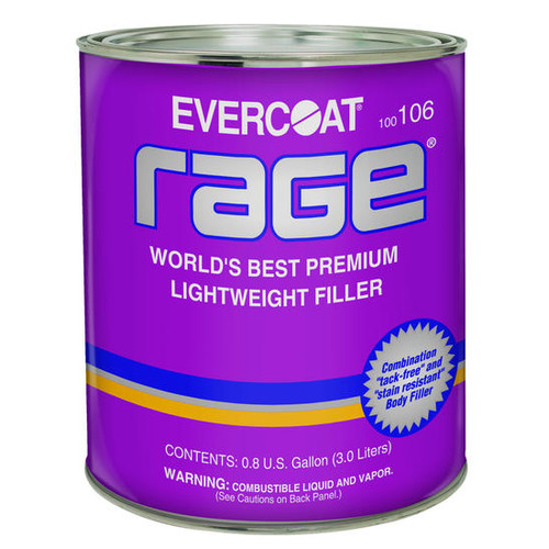 Evercoat 106 Rage Premium Lightweight Body Filler 1-Gallon
