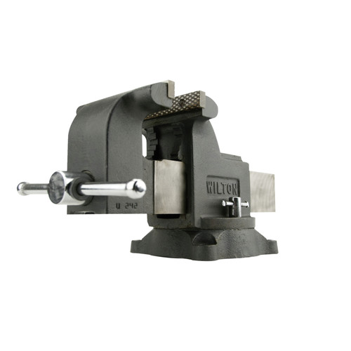 Wilton 63304 WS8, Shop Vise, 8 in. Jaw Width, 8 in. Jaw Opening, 4 in. Throat Depth image number 0