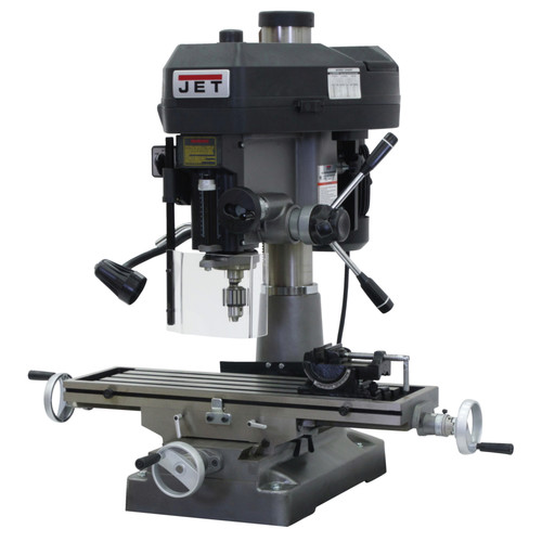 JET JMD-18 2 HP 1-Phase R-8 Taper Milling/Drilling Machine image number 0