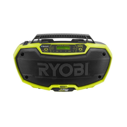 Factory Reconditioned Ryobi ZRP746 18V ONEplus Dual-Power Stereo with Bluetooth Wireless Technology (Bare Tool)