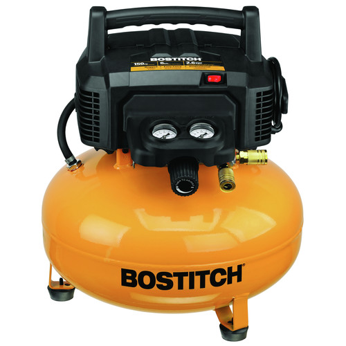 Bostitch BTFP02012 6 Gallon Oil-Free Pancake Air Compressor image number 0