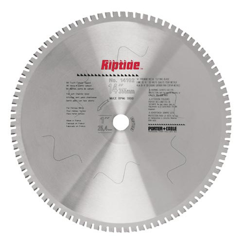 Porter-Cable 14104 14 in. 80-tooth RiptideDry Cut Metal Saw Blade