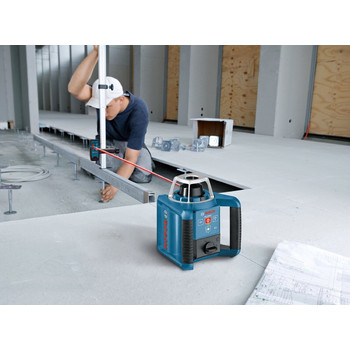 Bosch GRL300HVD Self-Leveling Interior Rotary Laser with Layout Beam Kit image number 2