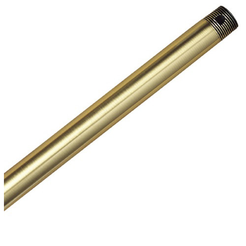Hunter 22719 12 in. Antique Brass Downrod Extension