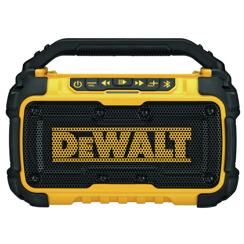 Factory Reconditioned Dewalt DCR010R 12V/20V MAX Lithium-Ion Jobsite Corded/Cordless Bluetooth Speaker (Tool Only) image number 0