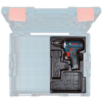 Bosch PS21BN 12V Max Lithium-Ion 2-Speed 1/4 in. Cordless Pocket Driver with Exact-Fit Tool Insert Tray (Tool Only) image number 2