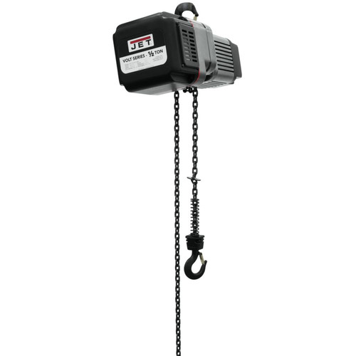 JET VOLT-050-13P-10 1/2 Ton 1-Phase/3-Phase 230V Electric Chain Hoist with 10 ft. Lift
