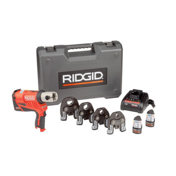 Ridgid 57398 RP 240 Press Tool Kit with 1/2 in. - 1-1/4 in. ProPress Jaws
