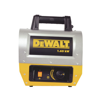 Dewalt F340635 1.65 kW 5,630 BTU Electric Forced Air Portable Heater image number 0