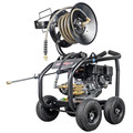 Simpson 65202 Super Pro 3600 PSI 2.5 GPM Direct Drive Small Roll Cage Professional Gas Pressure Washer with AAA Pump image number 0