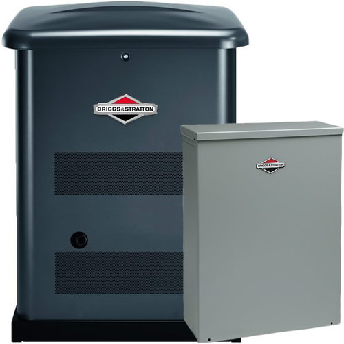 Briggs & Stratton 40534 12kW Auto Standby Generator with 150 Amp SED Symphony II Transfer Switch