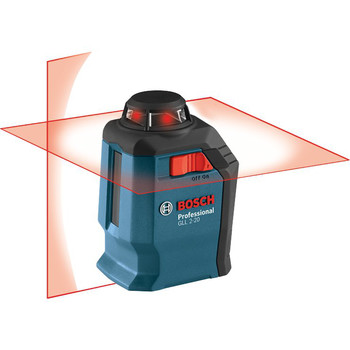 Factory Reconditioned Bosch GLL2-20-RT Self-Leveling 360 Degree Line and Cross Laser image number 3