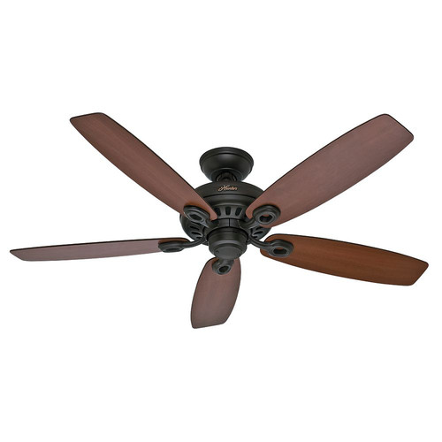 Hunter 54110 Markham 52 in. Casual Bronze Roasted Walnut Indoor Ceiling Fan