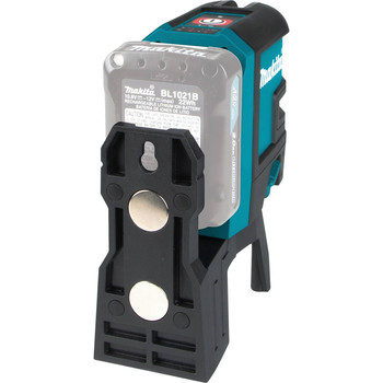 Makita SK106DZ 12V MAX CXT Lithium-Ion Cordless Self-Leveling Cross-Line/4-Point Red Beam Laser (Tool Only) image number 4