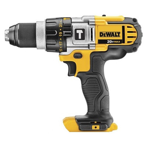 Factory Reconditioned Dewalt DCD985BR 20V MAX Lithium-Ion Premium 3-Speed Hammer Drill (Bare Tool)