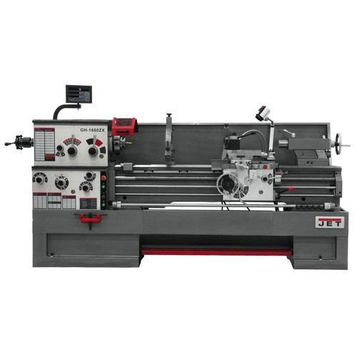 JET GH-1660ZX Lathe with 2-Axis ACU-RITE 200S and Collet Closer Installed image number 0