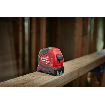 Milwaukee 48-22-7125C 25 ft. Magnetic and Compact Tape Measure (2 Pc) image number 12