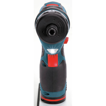 Bosch PS21-2A 12V Max Lithium-Ion 2-Speed 1/4 in. Cordless Pocket Driver Kit (2 Ah) image number 2