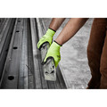 Milwaukee 48-73-8932B 12-Piece Cut Level 3 High Visibility Polyurethane Dipped Gloves - Large image number 2