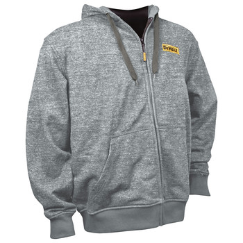 Dewalt DCHJ080B-M 20V MAX Li-Ion Heathered Gray Heated Hoodie (Jacket Only) image number 1