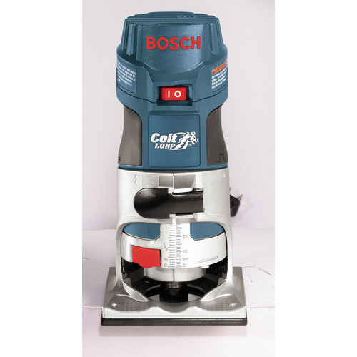 Bosch PR20EVS 1 HP 5.6 Amp Colt Electronic Variable-Speed Palm Router image number 2