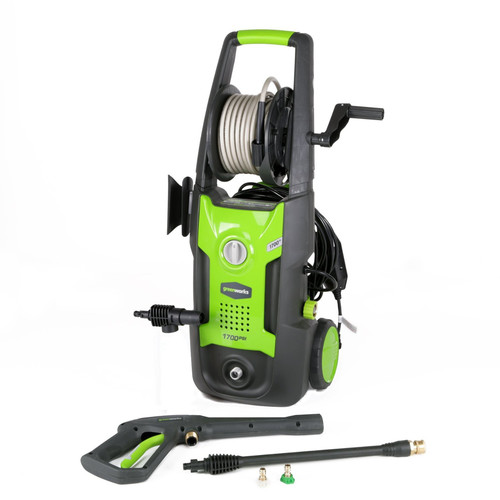 Greenworks GPW1702 13 Amp 1,700 PSI 1.2 GPM Electric Pressure Washer
