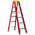 Louisville L-3016-06 6 ft. Type IA Duty Rating 300 lbs. Load Capacity Fiberglass Step Ladder