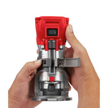 Milwaukee 2723-20 M18 FUEL Cordless Lithium-Ion Compact Router (Tool Only) image number 7