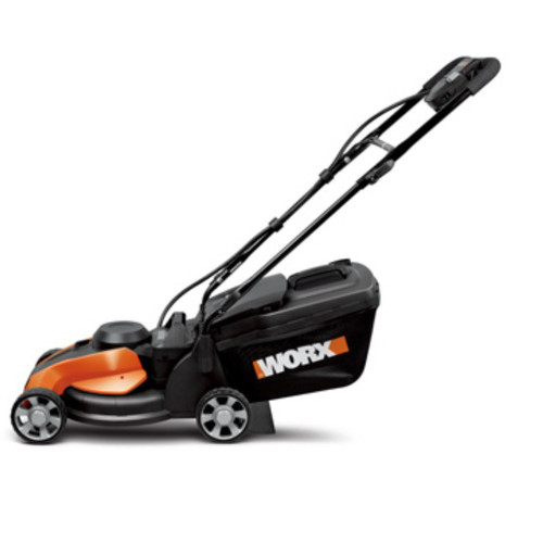 Worx WG782 24V Cordless 14 in. 3-in-1 Lawn Mower with IntelliCut
