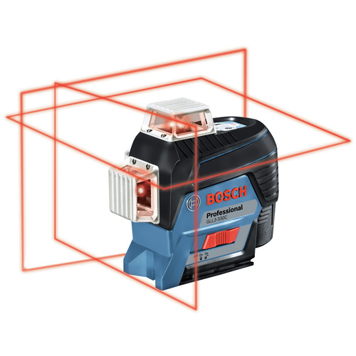 Factory Reconditioned Bosch GLL3-330C-RT 360-Degrees Connected Three-Plane Leveling and Alignment-Line Laser image number 0