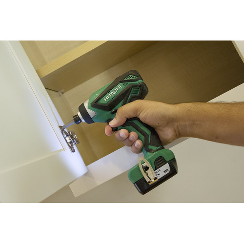 Hitachi WH10DFL2 12V Peak Li-Ion 1/4 in. Hex Impact Driver image number 3