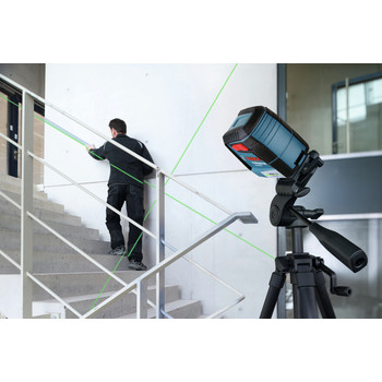 Bosch GLL40-20G Green-Beam Self-Leveling Cross-Line Laser image number 8