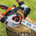 Black & Decker LCS1020 20V MAX Brushed Lithium-Ion 10 in. Cordless Chainsaw Kit (2 Ah) image number 6