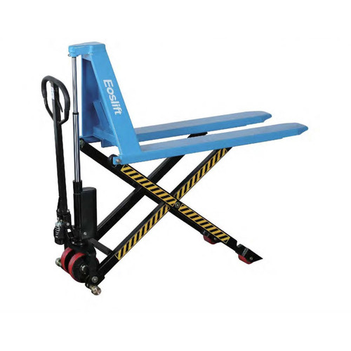 Eoslift I15D 3,300 lbs. 27 in. x 45 in. Heavy Duty Scissor Lift Pallet Truck