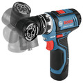 Bosch GSR12V-140FCB22 12V Max Lithium-Ion FlexiClick 5-in-1 1/4 in. Cordless Drill Driver System Kit (2 Ah) image number 7