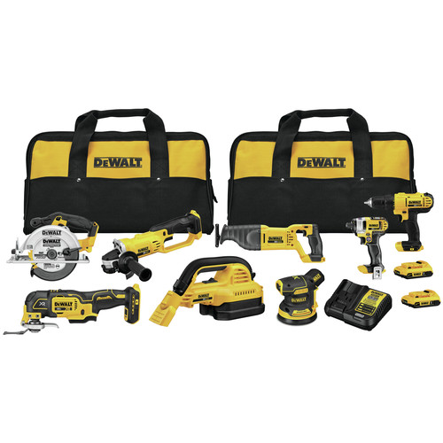 Dewalt DCK883D2 20V MAX Brushless Compact Lithium-Ion Cordless 8-Tool Combo Kit (2 Ah) image number 0
