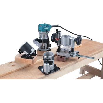 Makita RT0701CX3 1-1/4 HP Compact Router Kit with Attachments image number 1