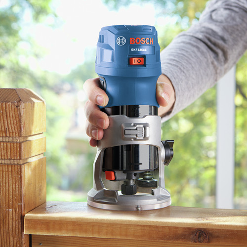 Bosch GKF125CEPK Colt 1.25 HP Variable-Speed Palm Router Combination Kit (7 Amp) image number 10
