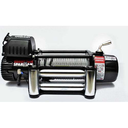Warrior Winches 8000 8,000 lb. Spartan Series Planetary Gear Winch with Steel Cable