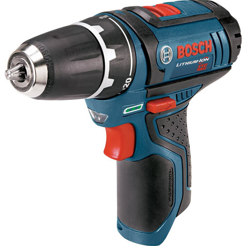 Factory Reconditioned Bosch PS31BN-RT 12V MAX Lithium-Ion 3/8 in. Drill Driver (Bare Tool) with Exact-Fit Tool Insert Tray